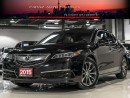 Used 2015 Acura TLX TECH NAVI BLINDSPOT LANE KEEP FULLY LOADED for sale in North York, ON