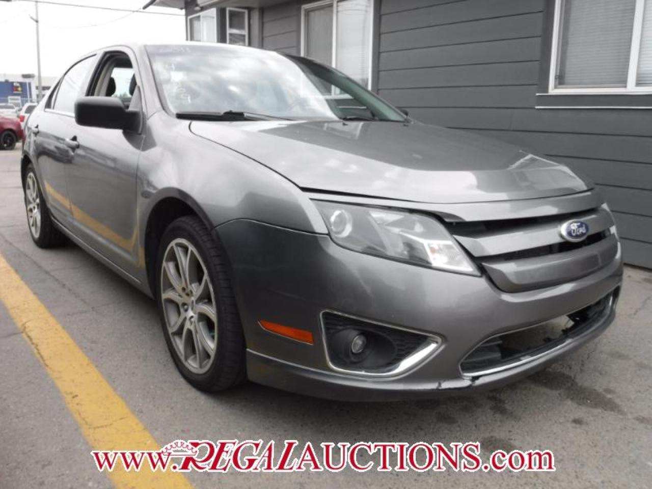 Photo of Grey 2011 Ford FUSION SEL 4D SEDAN AWD