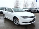 Used 2016 Chrysler 200 COURTESY CAR*CLEARANCE PRICED*ONLY 6982  KMS*LIMIT for sale in Mississauga, ON