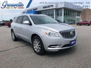 Used 2017 Buick Enclave Leather  - Power Liftgate -  Leather Seats for sale in Bracebridge, ON