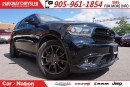 Used 2017 Dodge Durango R/T| NAV| BLU-RAY| TECHNOLOGY GROUP| SUNROOF for sale in Mississauga, ON