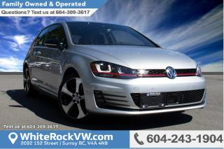 New 2017 Volkswagen Golf GTI 3-Door Autobahn FENDER PREMIUM AUDIO, APP-CONNECT, 6.5