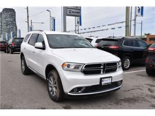 Used 2017 Dodge Durango SXT HEATED SEATS|BLUETOOTH|BACK UP CAM/ONLY 22,000 for sale in Concord, ON