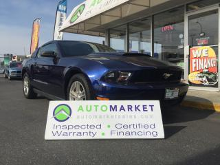 Used 2010 Ford Mustang V6 Coupe, 5 spd. LIKE NEW & WARRANTY TOO! for sale in Langley, BC