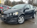 Used 2012 Chevrolet Sonic LT for sale in Dundas, ON