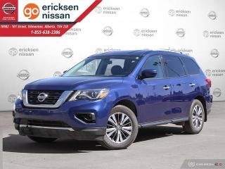 Used 2017 Nissan Pathfinder SV: AWD, POWER WINDOWS, BACKUP CAMERA, BLUETOOTH, SMOKE FREE, AUTOMATIC for sale in Edmonton, AB
