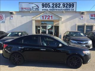 Used 2011 Kia Forte 2.4L SX Luxury, Leather, Sunroof, WE APPROVE ALL C for sale in Mississauga, ON