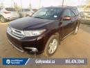 Used 2012 Toyota Highlander LEATHER, SUNROOF, BACK UP CAMERA. for sale in Edmonton, AB