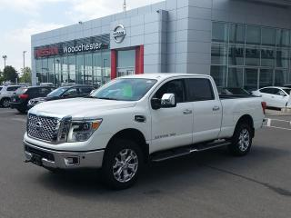 New 2016 Nissan Titan Crew Cab XD SL 4x4 for sale in Mississauga, ON