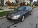 Used 2007 Honda Accord EXL, NAVI, LEATHER, ROOF, NO ACCIDENTS, CERTIFIED for sale in Etobicoke, ON