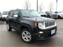 Used 2016 Jeep Renegade DEMO*CLEARANCE PRICED ONLY 6348 KMS*LIMITED*4X4*NA for sale in Mississauga, ON