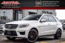 Used 2015 Mercedes-Benz ML63 AMG AMG|AWD|Nav|360Cam|PanoSunroof|BlindSpot|LaneKeep|21