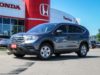 Used 2013 Honda CR-V LX 4WD 5-Speed AT for sale in Milton, ON