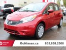 Used 2015 Nissan Versa Note S Plus for sale in Edmonton, AB