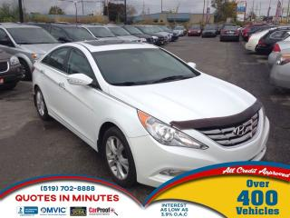 Used 2011 Hyundai Sonata Limited * PWR ROOF * LEATHER for sale in London, ON