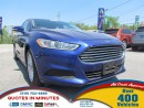 Used 2014 Ford Fusion SE * NAV * CAM * BLUETOOTH * SAT RADIO for sale in London, ON