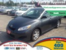 Used 2010 Toyota Matrix * NEW CARS DAILY * OPEN SUNDAYS BY APPOINTEMENT for sale in London, ON