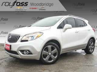 Used 2014 Buick Encore LEATHER, HEATED SEATS/WHEEL for sale in Woodbridge, ON
