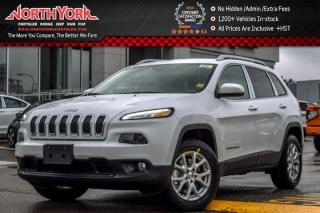 New 2017 Jeep Cherokee NEW Car North|4x4|SafetyTec Pkg|RearCam|Bluetooth|SatRadio|A/C|17