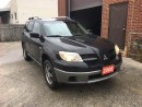 Used 2006 Mitsubishi Outlander LS for sale in North York, ON