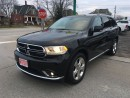 Used 2015 Dodge Durango Limited  NAV., ROOF, DVD for sale in Belmont, ON