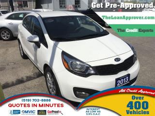 Used 2013 Kia Rio EX * HEATED SEATS * SAT RADIO for sale in London, ON