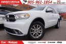 Used 2017 Dodge Durango SXT| BRAND NEW| AWD| SIRIUS XM| BACKUP CAMERA| for sale in Mississauga, ON