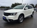 Used 2016 Dodge Journey Crossroad - 7 Passenger - Sunroof for sale in Norwood, ON
