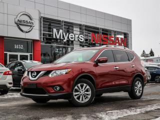 Used 2014 Nissan Rogue SV AWD electric seat, lumbar support, nav, reverse camera, heated seats, moonroof, reverse camera, intelligent key for sale in Orleans, ON