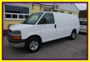 Used 2010 Chevrolet Express 2500 cargo van Chrome pkg, No Windows for sale in Woodbridge, ON