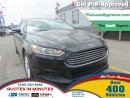 Used 2014 Ford Fusion SE * NAV * BLUETOOTH * CAM * SAT RADIO * HEATED SE for sale in London, ON