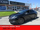 Used 2013 Lincoln MKZ TECH+RESERVE NAV ADAP-CC LANE-DEPART for sale in St Catharines, ON