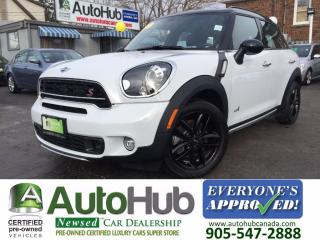 Used 2015 MINI Cooper Countryman AWD-NAVI-LEATHER-SUNROOF for sale in Hamilton, ON
