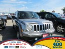 Used 2015 Jeep Patriot Sport/North * 4X4 * ONE OWNER for sale in London, ON