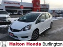 Used 2013 Honda Fit Sport | 5SP | ALLOYS | KEYLESS ENTRY | BLUETOOTH for sale in Burlington, ON