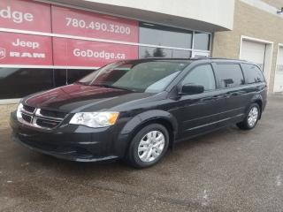 Used 2017 Dodge Grand Caravan SXT PLUS, REAR DVD, BACKUP CAMERA, REAR CLIMATE, VERY LOW KMS! for sale in Edmonton, AB