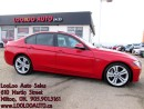 Used 2012 BMW 3 Series 335i Manual Navigation Camera Certified 2YR Warran for sale in Milton, ON