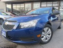 Used 2013 Chevrolet Cruze LS-BLUE-TOOTH-HEATED-AUTO-1-OWNER for sale in Scarborough, ON