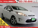 Used 2011 Ford Fiesta SES| LEATHER| SUNROOF| LOW KMs| for sale in Burlington, ON