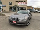 Used 2009 Infiniti G37 Premium, Clean Carproof, AWD for sale in North York, ON