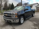 Used 2014 Chevrolet Silverado 1500 LT w/2LT Z71  CREWCAB CALL NAPANEE  $234.00 61K for sale in Picton, ON