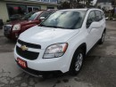 Used 2012 Chevrolet Orlando 'GREAT VALUE' FUEL EFFICIENT LT MODEL 7 PASSENGER 2.4L - ECO-TEC ENGINE.. KEYLESS ENTRY.. CD/AUX INPUT.. for sale in Bradford, ON