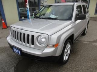 Used 2012 Jeep Patriot FUEL EFFICIENT NORTH EDITION 5 PASSENGER 2.4L - DOHC ENGINE.. 4X4.. KEYLESS ENTRY.. CD/AUX INPUT.. for sale in Bradford, ON