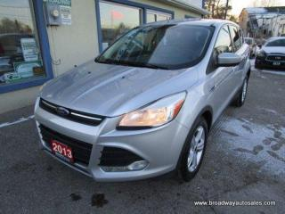 Used 2013 Ford Escape FUEL EFFICIENT SE EDITION 5 PASSENGER 1.6L - ECO-BOOST.. SYNC TECHNOLOGY.. HEATED SEATS.. CD/AUX/USB INPUT.. BLUETOOTH SYSTEM.. KEYLESS ENTRY.. for sale in Bradford, ON