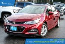 New 2017 Chevrolet Cruze LT Manual for sale in Port Coquitlam, BC