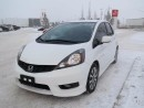 Used 2013 Honda Fit SPORT, 5SPEED, AC, CRUISE for sale in Edmonton, AB