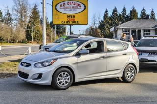 Used 2012 Hyundai Accent GL Hatchback, Automatic, Local Car, PWR Group! for sale in Surrey, BC