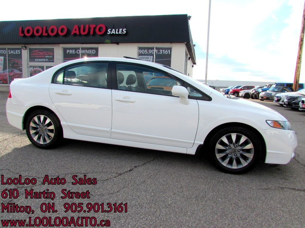 Used 2009 honda civic ex l sunroof leather certified 2yr for Milton martin honda used cars