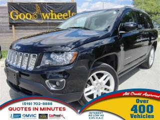 Used 2014 Jeep Compass Limited | AWD | NAV | LEATHER | ROOF for sale in London, ON