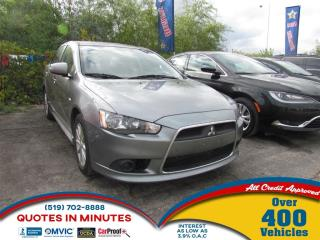 Used 2015 Mitsubishi Lancer SE | BLUETOOTH | POWER SEATS | ONE OWNER for sale in London, ON